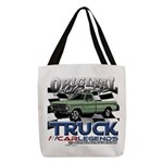 Green Truck Polyester Tote Bag