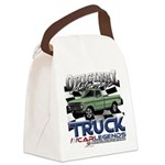 Green Truck Canvas Lunch Bag