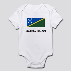 Solomon Islands Flag Infant Bodysuit