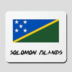 Solomon Islands Flag Mousepad