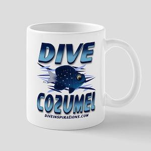 Dive Cozumel (blue) Mug