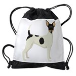 Toy Fox Terrier Drawstring Bag