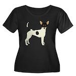 Toy Fox Terrier Plus Size T-Shirt