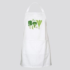 Go Green! BBQ Apron