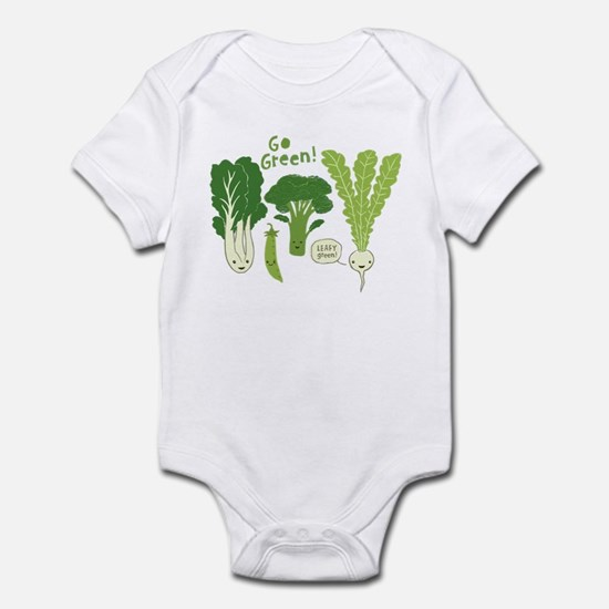 Go Green! Infant Bodysuit