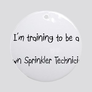 I'm training to be a Lawn Sprinkler Technician Orn