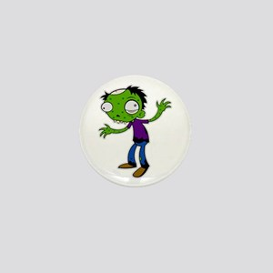 zombie kid Mini Button