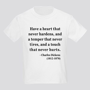 Charles Dickens 16 Kids Light T-Shirt