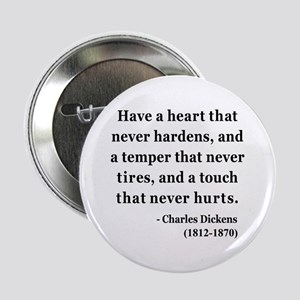 """Charles Dickens 16 2.25"""" Button"""