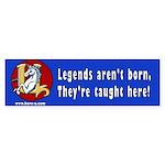 Hero-U Legends Bumper Sticker