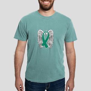 Winged Awareness Ribbon (Teal) T-Shirt