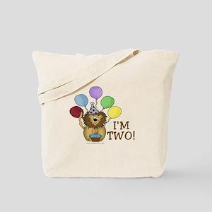 I'm Two (lion) Tote Bag