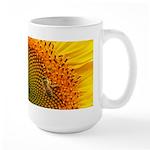 Sunflower and Bee Large Mug