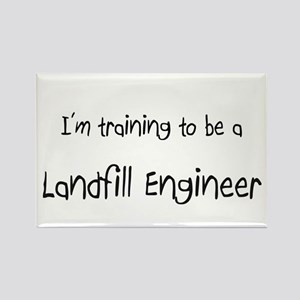 I'm training to be a Landfill Engineer Rectangle M
