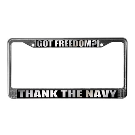Got Freedom License Plate Frame