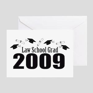 Law School Grad 2009 (Black Caps And Diplomas) Gre