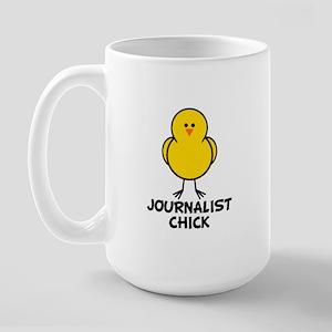 Journalist Chick Large Mug
