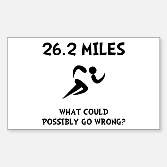 Marathon Go Wrong Decal