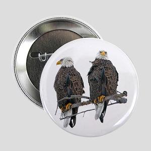 "TWIN EAGLES 2.25"" Button"