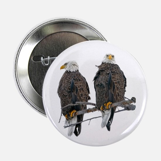 "TWIN EAGLES 2.25"" Button"