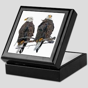 TWIN EAGLES Keepsake Box