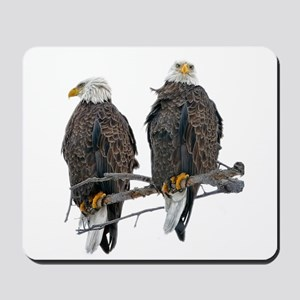 TWIN EAGLES Mousepad
