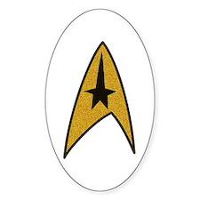 Star Trek TOS Patch Logo Oval Sticker