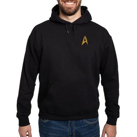 Star Trek TOS Patch Logo Hoodie (dark)