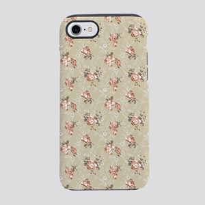 Victorian Rose Pattern iPhone 7 Tough Case