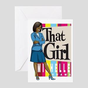 That Girl! Greeting Card