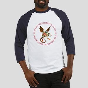 BEWARE THE JABBERWOCK Baseball Jersey