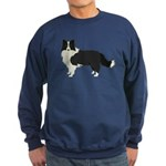 Border Collie Sweatshirt (dark)