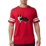 Border Collie Mens Football Shirt