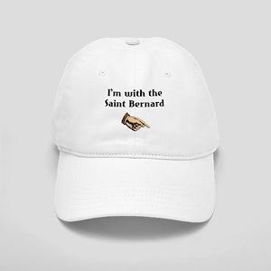 I'm with the Saint Bernard Cap