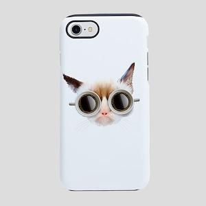 Coffee Cat iPhone 7 Tough Case