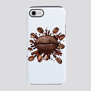 Coffee Lips iPhone 7 Tough Case