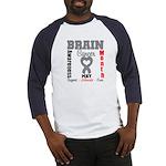 Brain Cancer Month Baseball Jersey