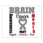Brain Cancer Month Small Poster