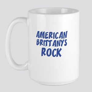 AMERICAN BRITTANYS ROCK Large Mug