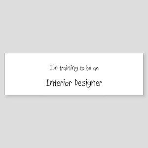 I'm Training To Be An Interior Designer Sticker (B