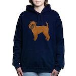 Griffon Bruxellois Women's Hooded Sweatshirt