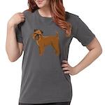 Griffon Bruxellois Womens Comfort Colors® Shirt