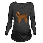 Griffon Bruxellois Long Sleeve Maternity T-Shirt