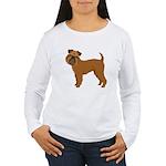 Griffon Bruxellois Women's Long Sleeve T-Shirt