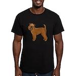 Griffon Bruxellois Men's Fitted T-Shirt (dark)