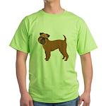 Griffon Bruxellois Green T-Shirt