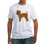 Griffon Bruxellois Fitted T-Shirt