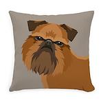 Griffon Bruxellois Everyday Pillow