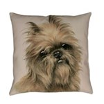 Sweet Brussels Griffon Everyday Pillow