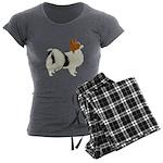 Papillon Women's Charcoal Pajamas